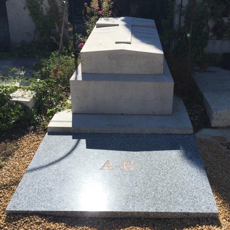 Rénovation monument funéraire