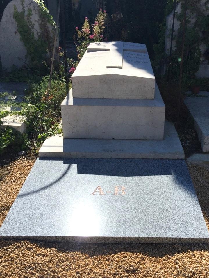 Rénovation de monument funéraire